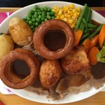 Large Beef Sunday Roast. £11.50