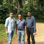 Me Chengappa and Navin after the rafting trip at Coorg White water Rafting