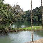 The calm before white waters
