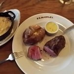 8oz F.X.BUCKLEY Rump Steak 32 Day Dry-Aged