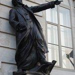 Parliment Building Statue