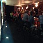 The cocktail lounge at John J. Jeffries.