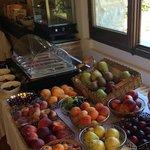 Frühstück: Auswahl an Früchten