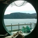 Bonne Bay Station Looking Out from Touch Tank Area