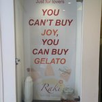 You can't buy joy, but you can buy gelato :)
