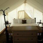 Safari-Zelt von Innen
