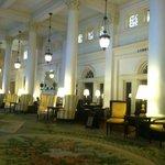 Breathtaking main lobby