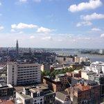 Anvers vu du M.A.S.
