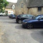 Small 6-car car park