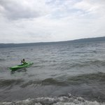 Kayaking, laguna de apoyo,,