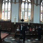 Wedding in the Chapel panoramic (16-Aug-2014)
