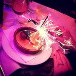 Fireworks with dessert!