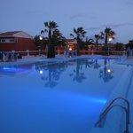 Pool at sunset...