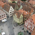 Market Square from top of Rathaus