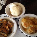Sunday dessert choices