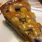 Tarta de manzana tipo pudding