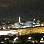 ホテルからのエッフェル塔
