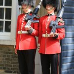 Guards at Clarance House