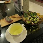 after treatment fruit and tea