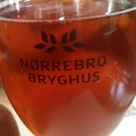 Large Beer from Norrebro Brewery - New York Lager