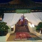 Front of Restaurant..red carpet treatment