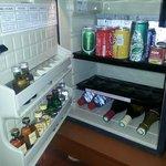Minibar consommations