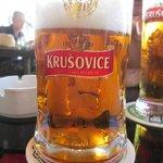 Erfrischendes Bier
