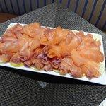 Buffet - smoked salmon