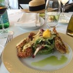 The best soft-shell crab ever!