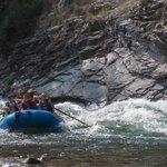 Cliffside rapids