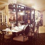 Tea Salon Interior