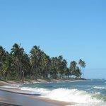 A outra ponta da praia