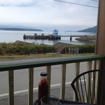 Ferry dock from the porch