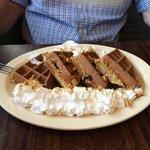 Oatmeal Cookie Waffle