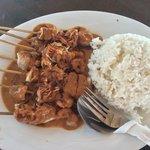 Seafood Satay