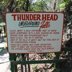 Information about the Thunderhead Falls
