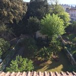 Tranquil backyard at Relais La Corte di Cloris