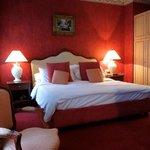 Very romantic room.