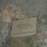 targhetta di Lord Byron