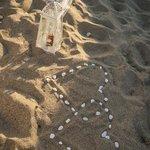 Beach near hotel (wedding)