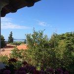 View from villa Anita