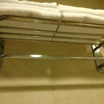 Rusted towel holder/bldg 4