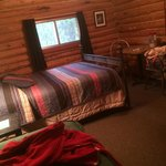 Cabin 2- queen and twin bed
