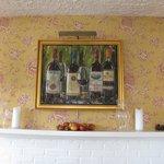 Original Artwork in the Main Dining Room
