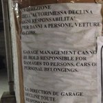 Garage custodito a pagamento.....