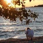 Beautiful view of Lake Erie