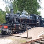 Ivatt Mogul ready to depart for Aviemore