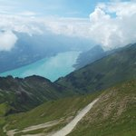 View from the Brienz Rothorn Railway