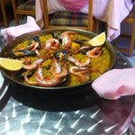 The nicest paella ever