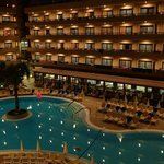 Pool at night (view from 322 room)